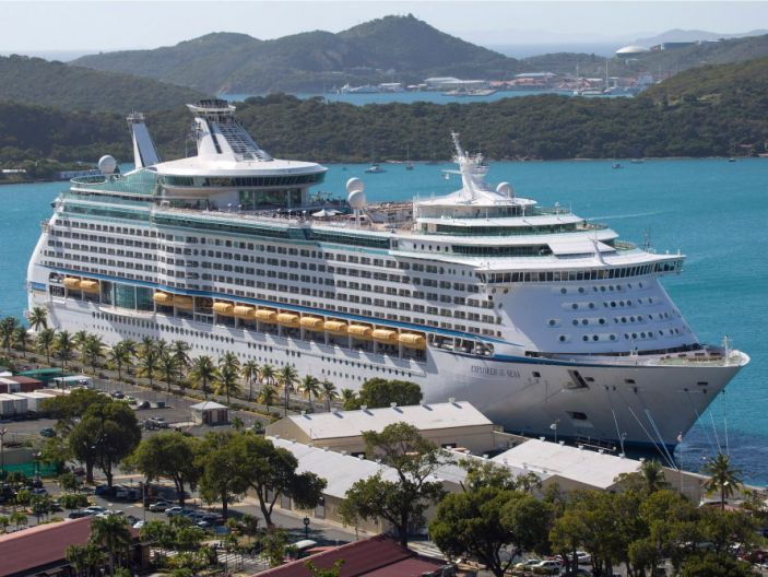 Royal Caribbean запрещает владельцам паспортов из материкового Китая, Гонконга и Макао садиться на круизные лайнеры.