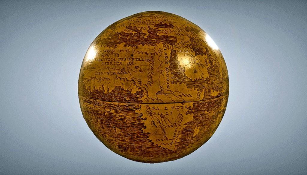 Исследователи создали 3D-модель древнего глобуса.
