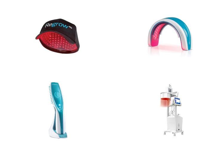 Лазерное устройство для лечения волос.